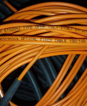 tyco electronics Optical Fiber Cable 100/140 2.9mm simplex