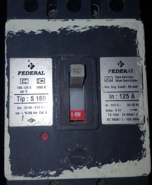 Federal  S160 125 A